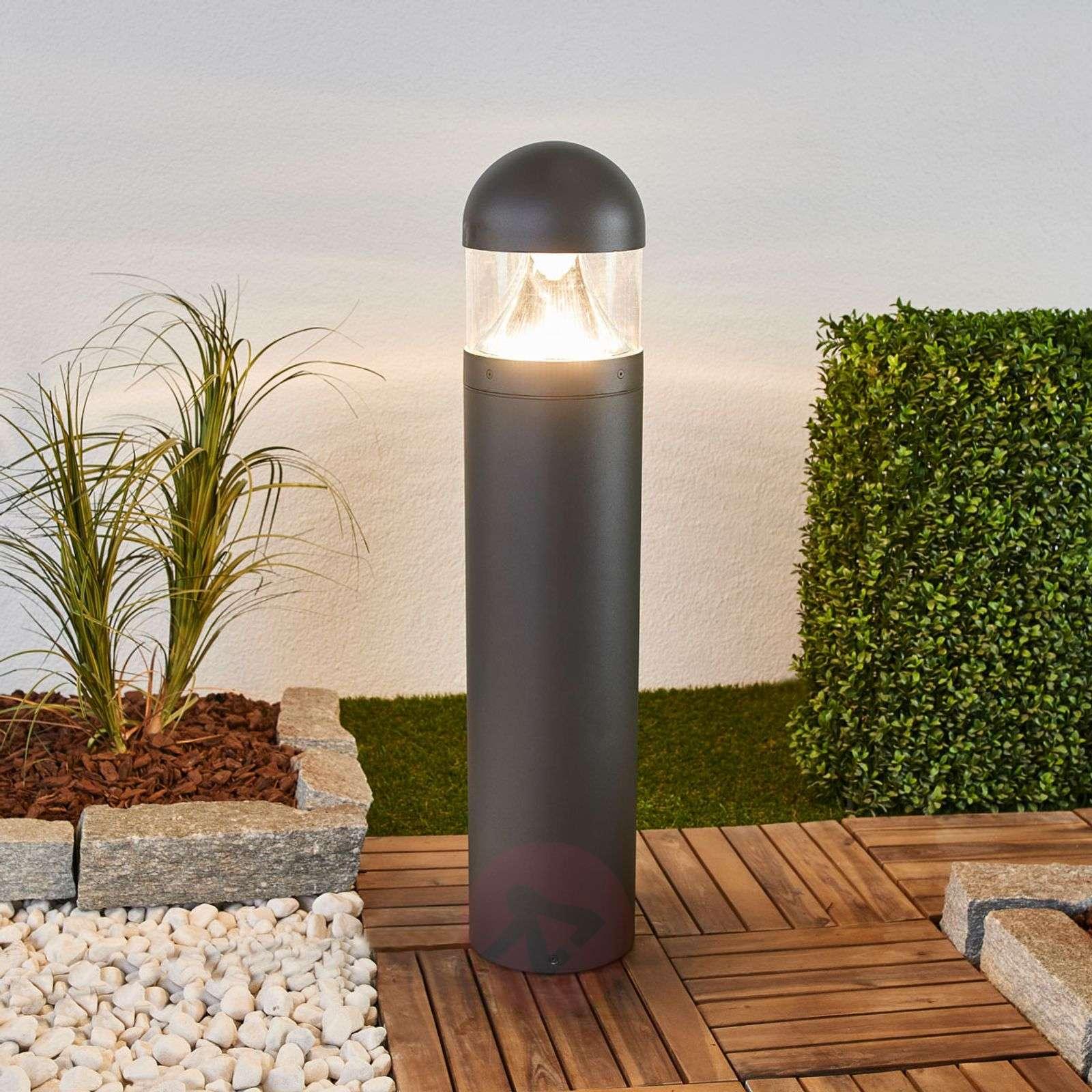 Kirkkaasti valaiseva pyöreä LED-pylväsvalo Meva-9955026-01