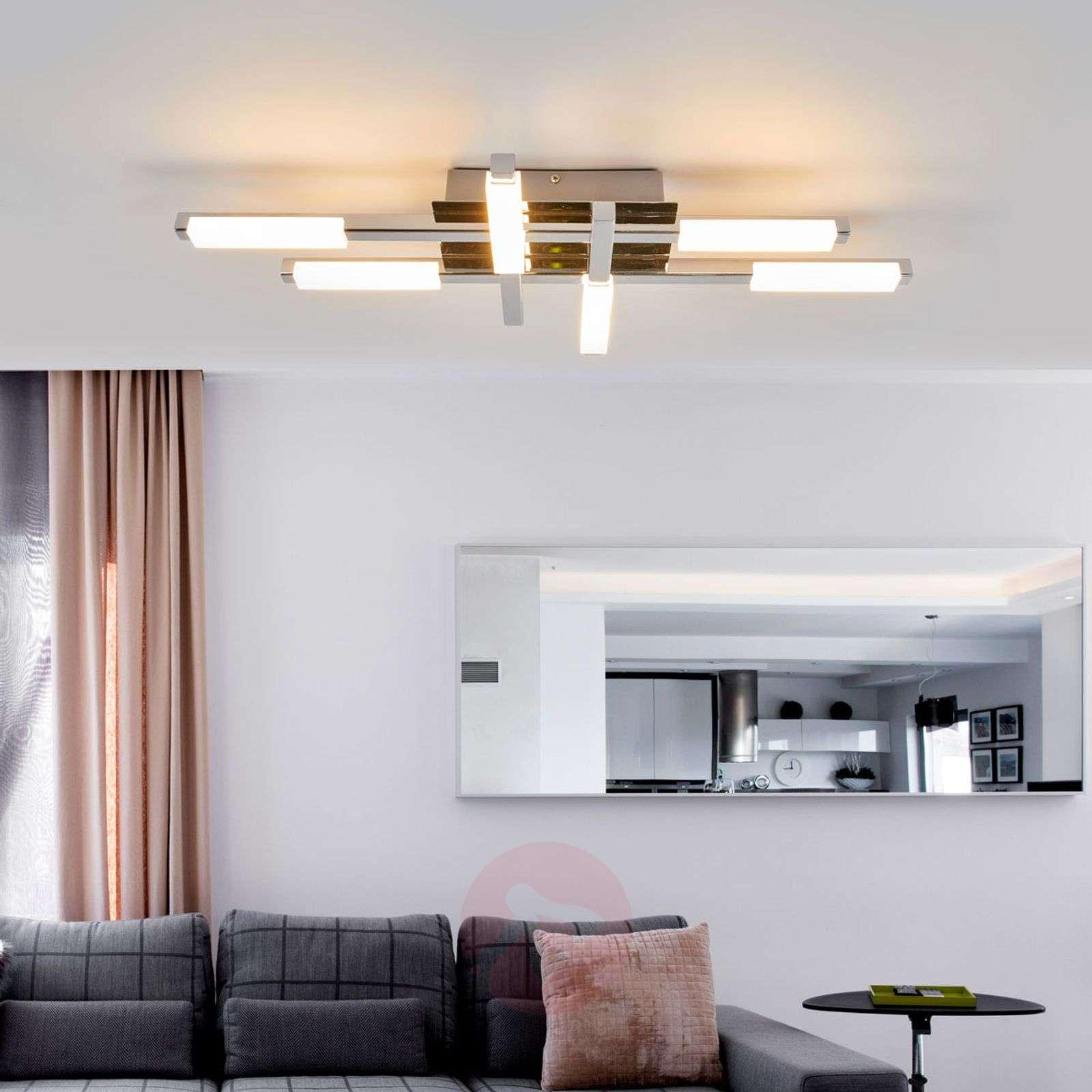 Kirkkaasti valaisevat LED-kattolamppu Patrik, IP44-9641103-03