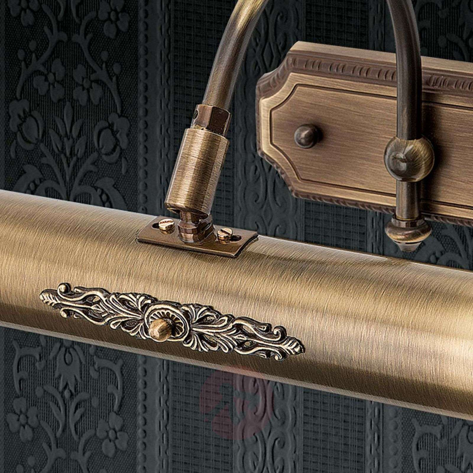Klassinen Gustav-tauluvalo vanhamessinkiä, 30 cm-7255210-01