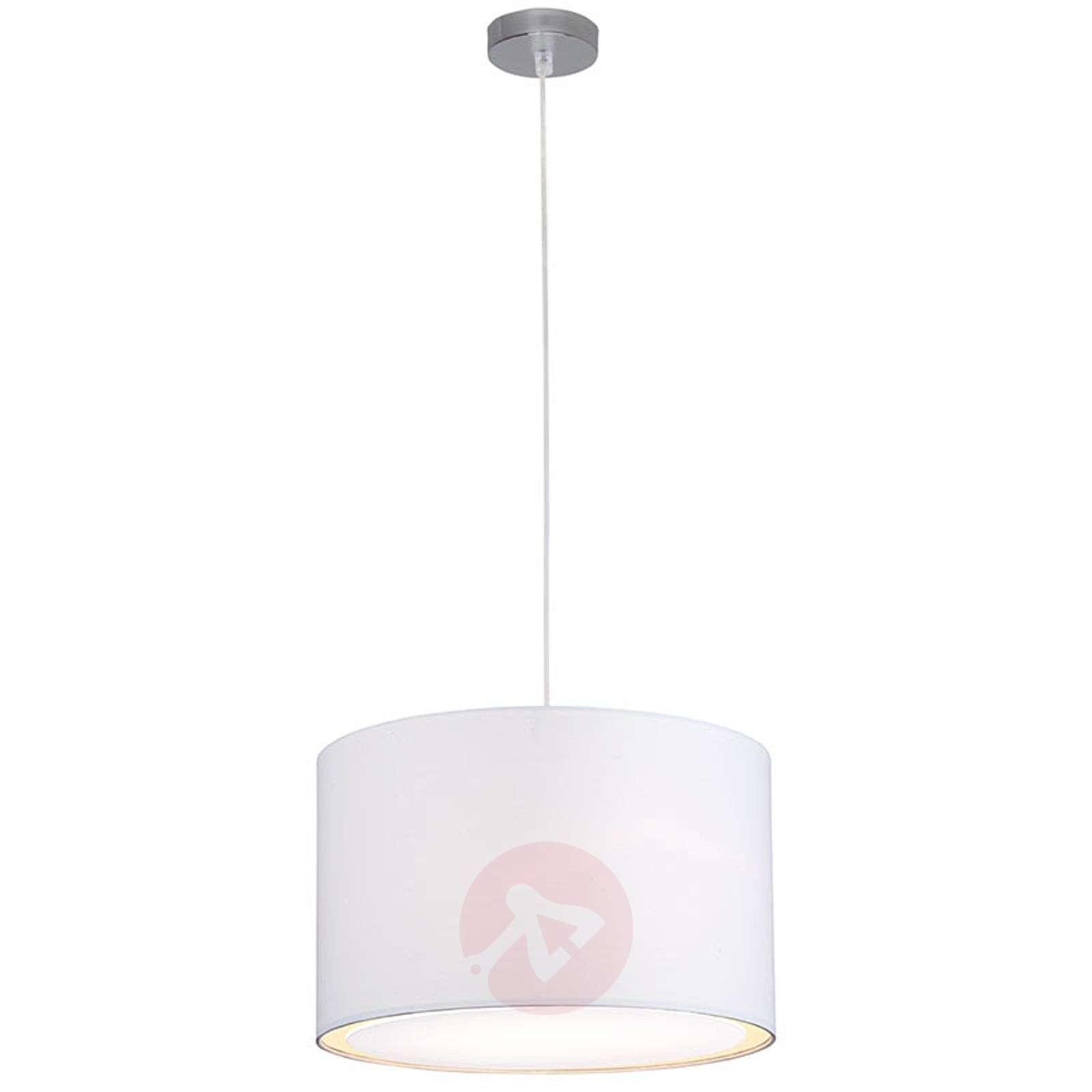 Klassisen moderni Clarie-riippuvalaisin, valkoinen-1508812-01