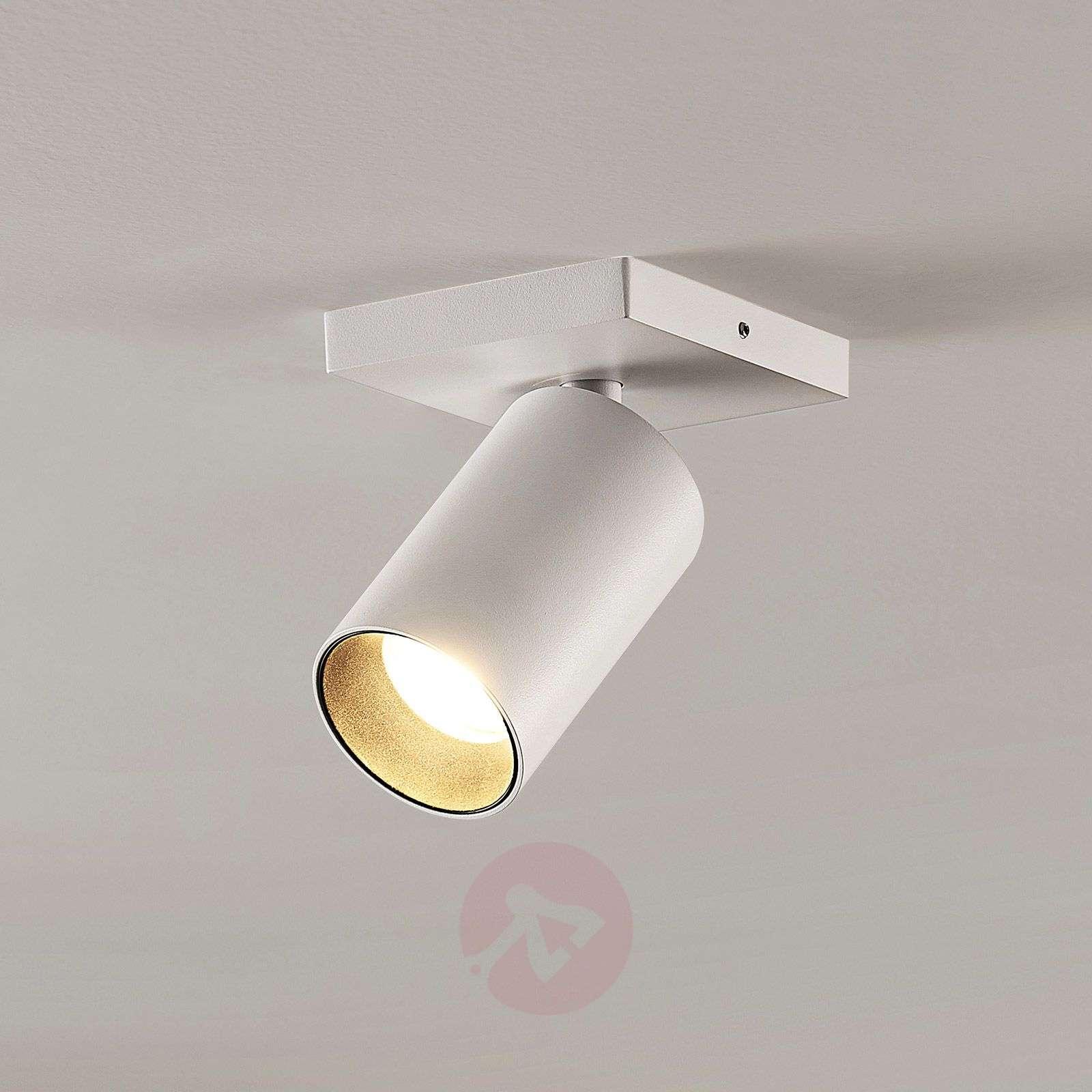 Kohdevalo Brinja GU10 valkoinen 1 lamppu kulmikas-9928011-01