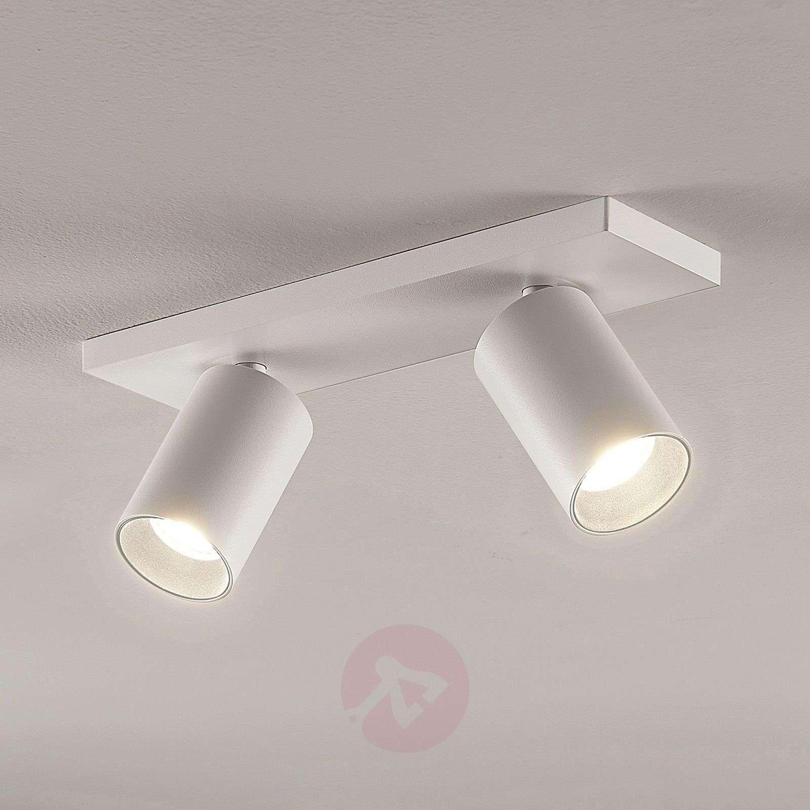 Kohdevalo Brinja GU10 valkoinen 2 lamppua-9928012-01