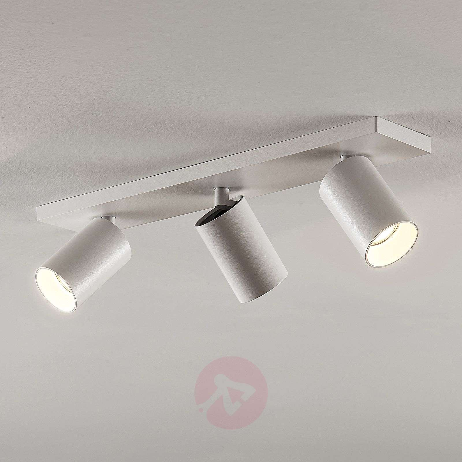 Kohdevalo Brinja GU10 valkoinen 3 lamppua-9928013-01