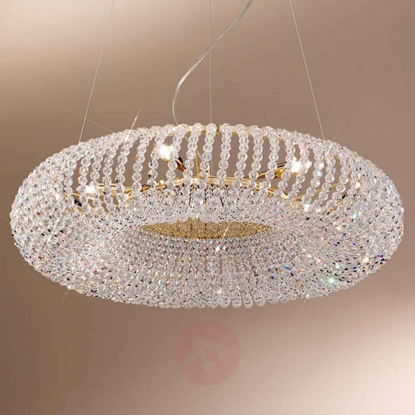 KOLARZ Carla-kristalliriippuvalaisin, kulta-5506091-01
