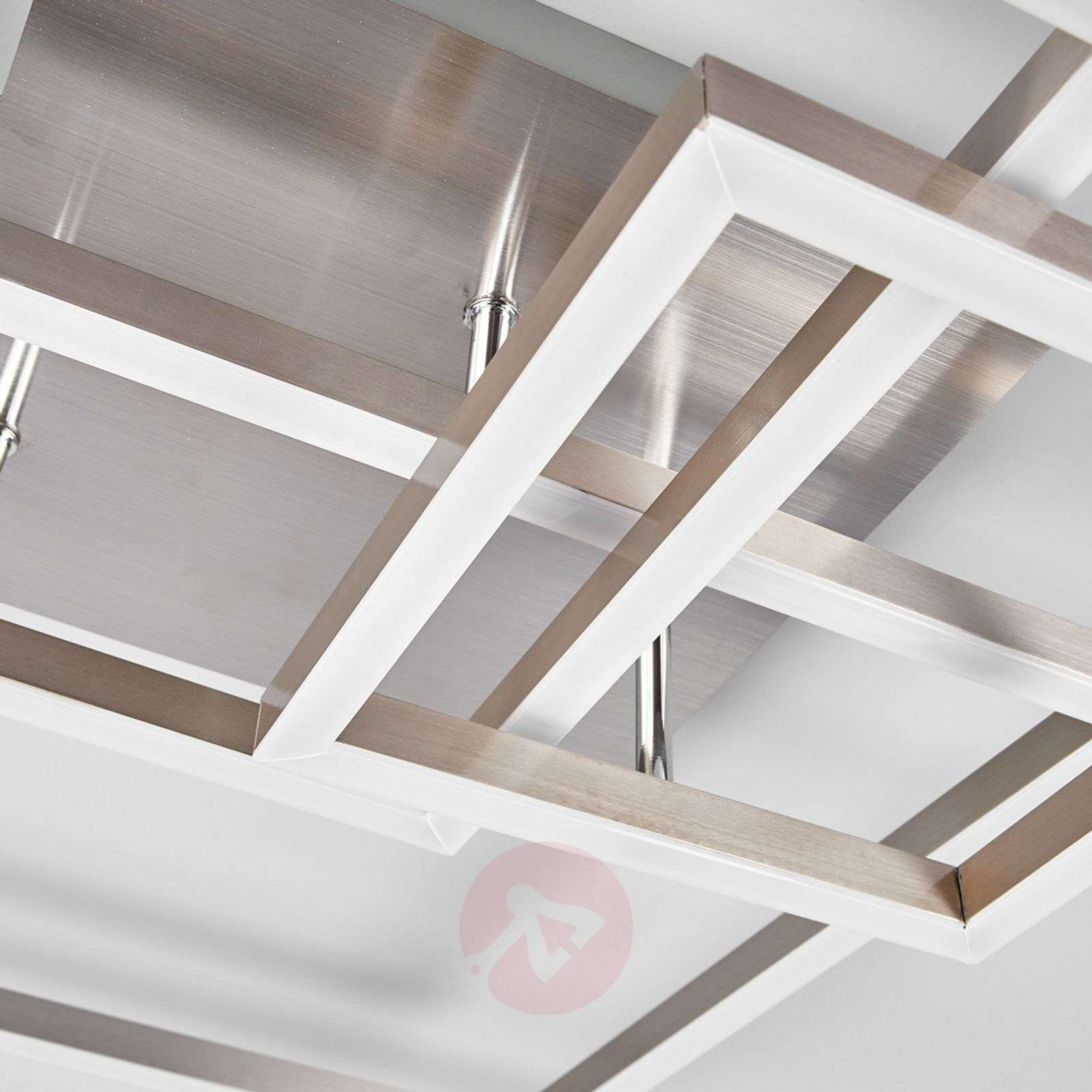 Kolme metallikehystä: LED-kattovalaisin Delian-9987050-03