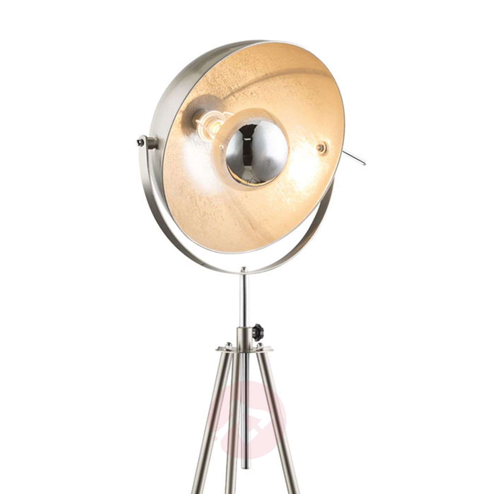 Kolmijalkainen lattiavalaisin Nosy, nikkeli/hopea-4015065-01