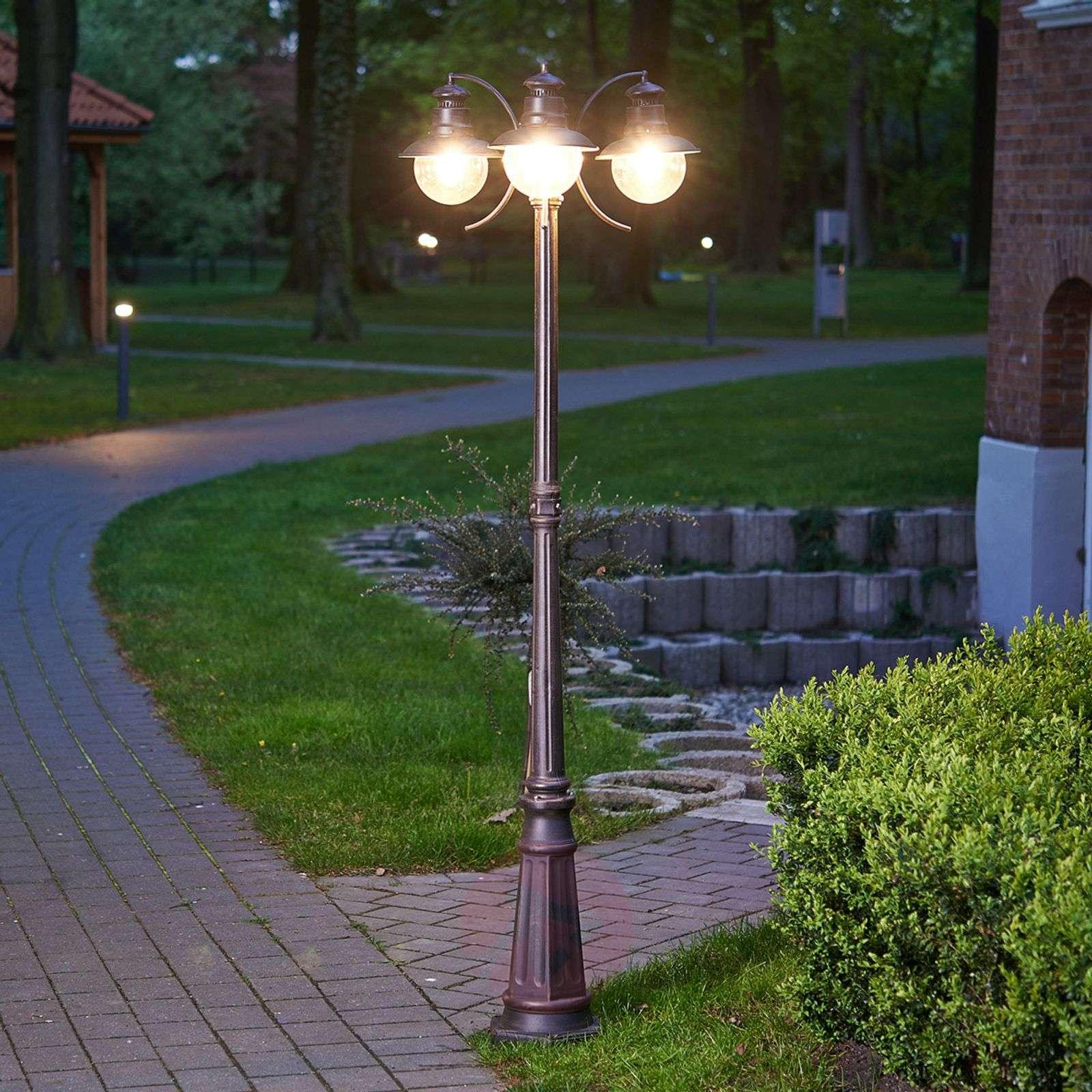 Kolmilamppuinen kynttelikkö Eddie, IP44-9630004-01