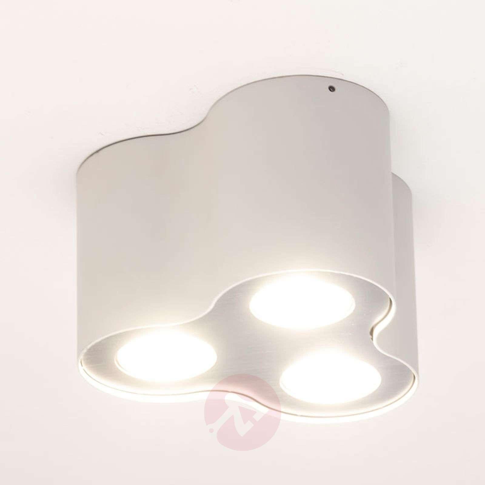 Kolmilamppuinen LED-kattovalaisin Pillar valkoinen-7531914-01