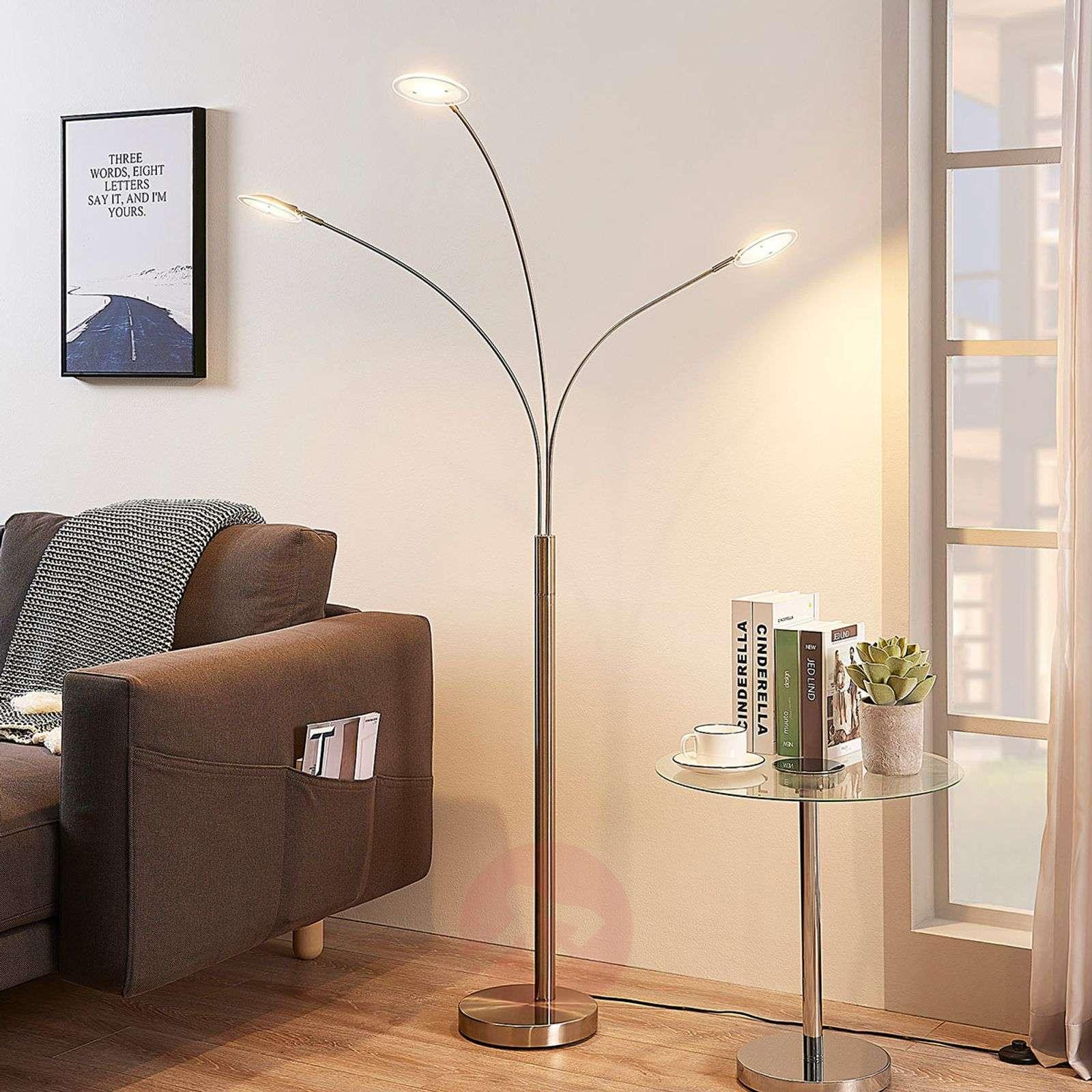 Kolmilamppuinen LED-lattiavalo Anea-9621693-02