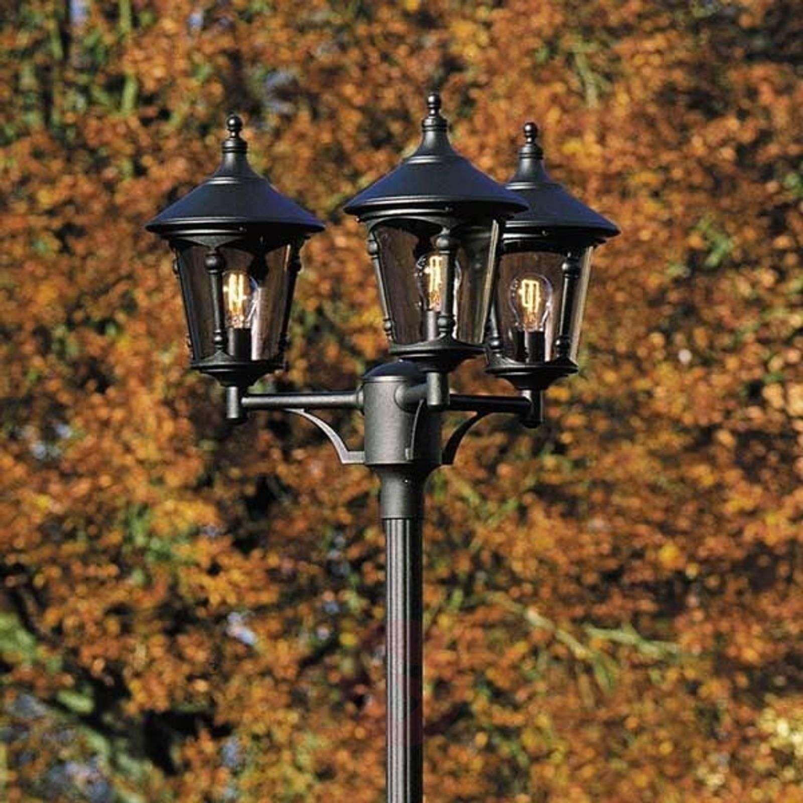 Kolmilamppuinen lyhtypylväs VIRGO-5522296X-01