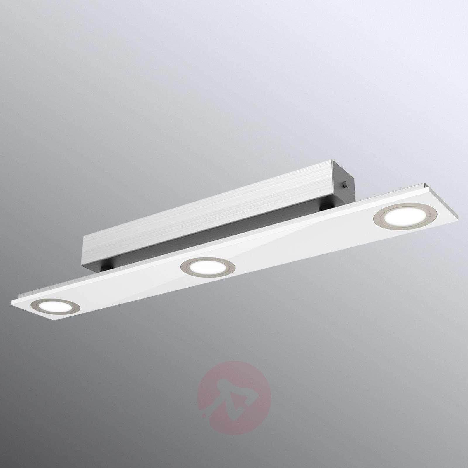 Kolmiosainen Pano-LED-kattovalaisin-3025301X-01