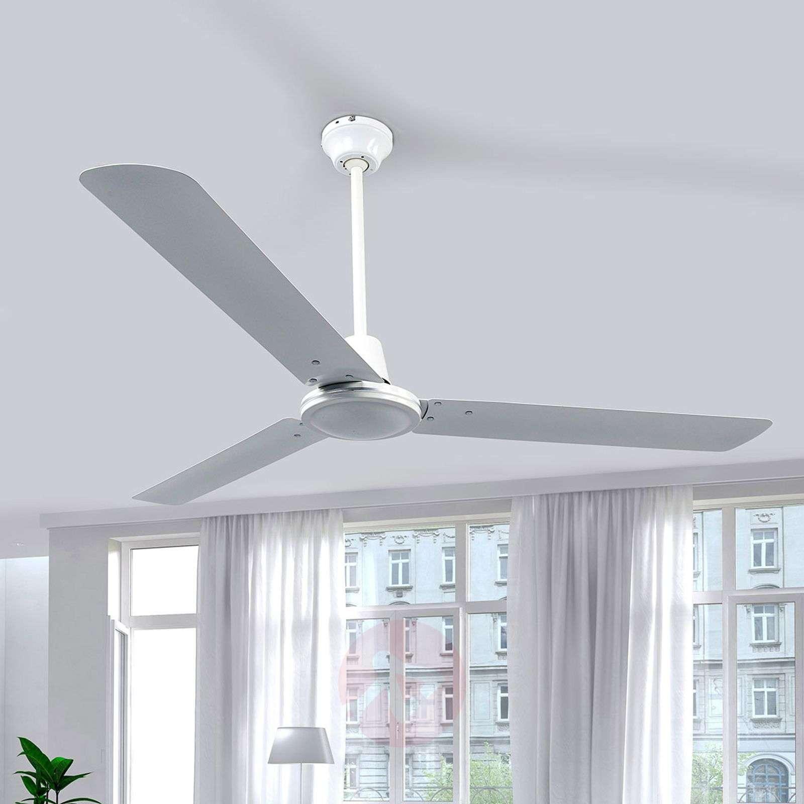 Kolmisiipinen valkoinen kattotuuletin Dawinja-4018099-011