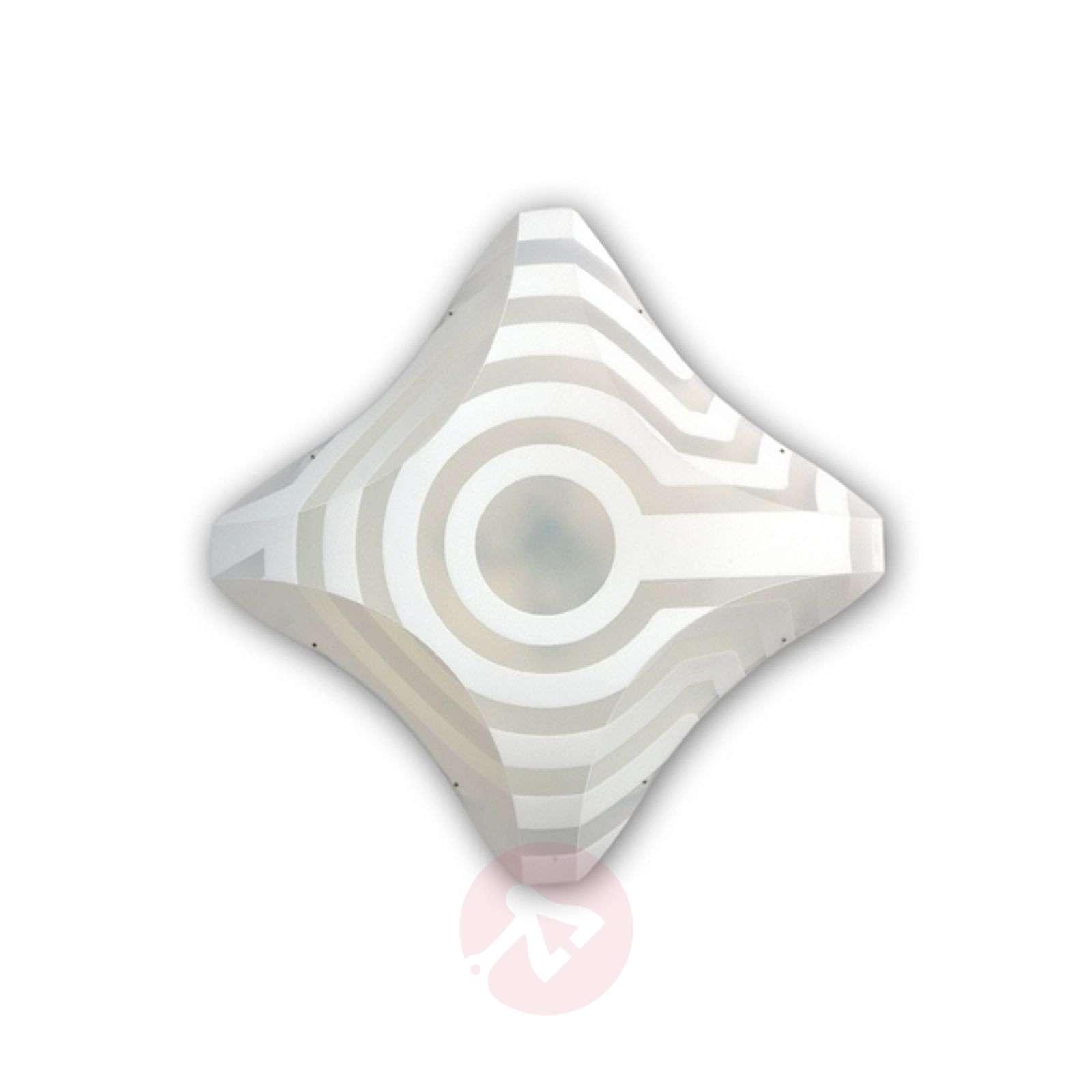 Koristeellinen design-kattovalaisin VENTI 36x36cm-8503024-01