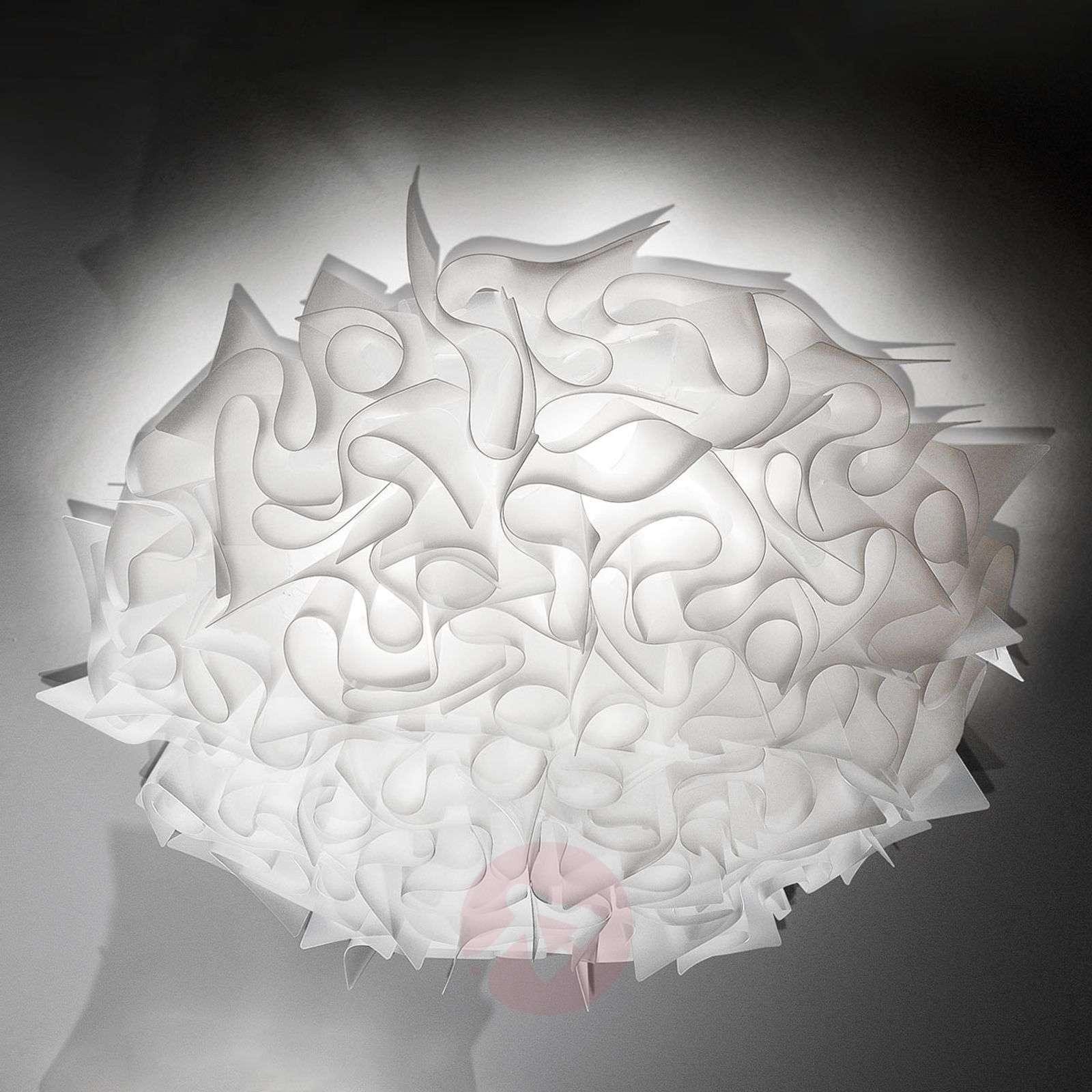 Koristeellinen kattovalaisin Veli 78 cm, opaali-8503123-01