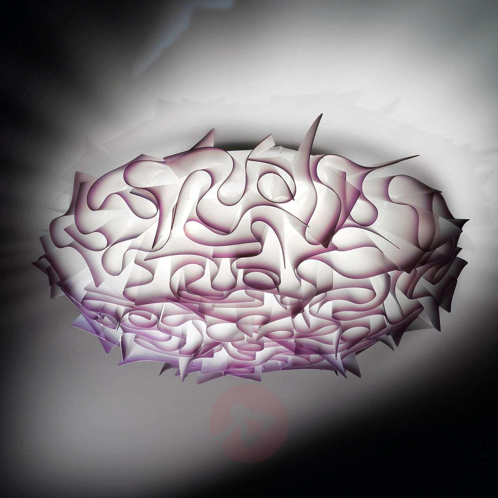 Koristeellinen kattovalaisin Veli 78 cm, violetti-8503124-01
