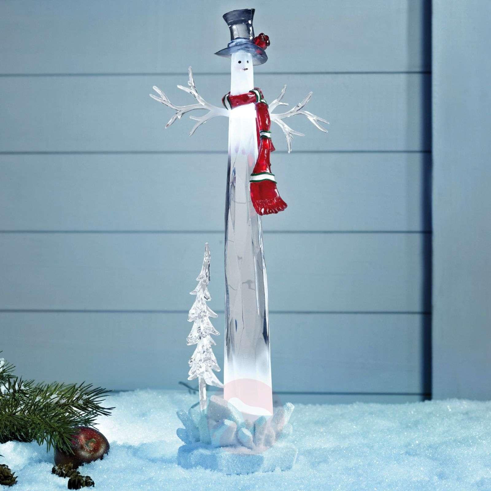 Koristeellinen LED-lumiukko Dumle, 34cm-6507042-01