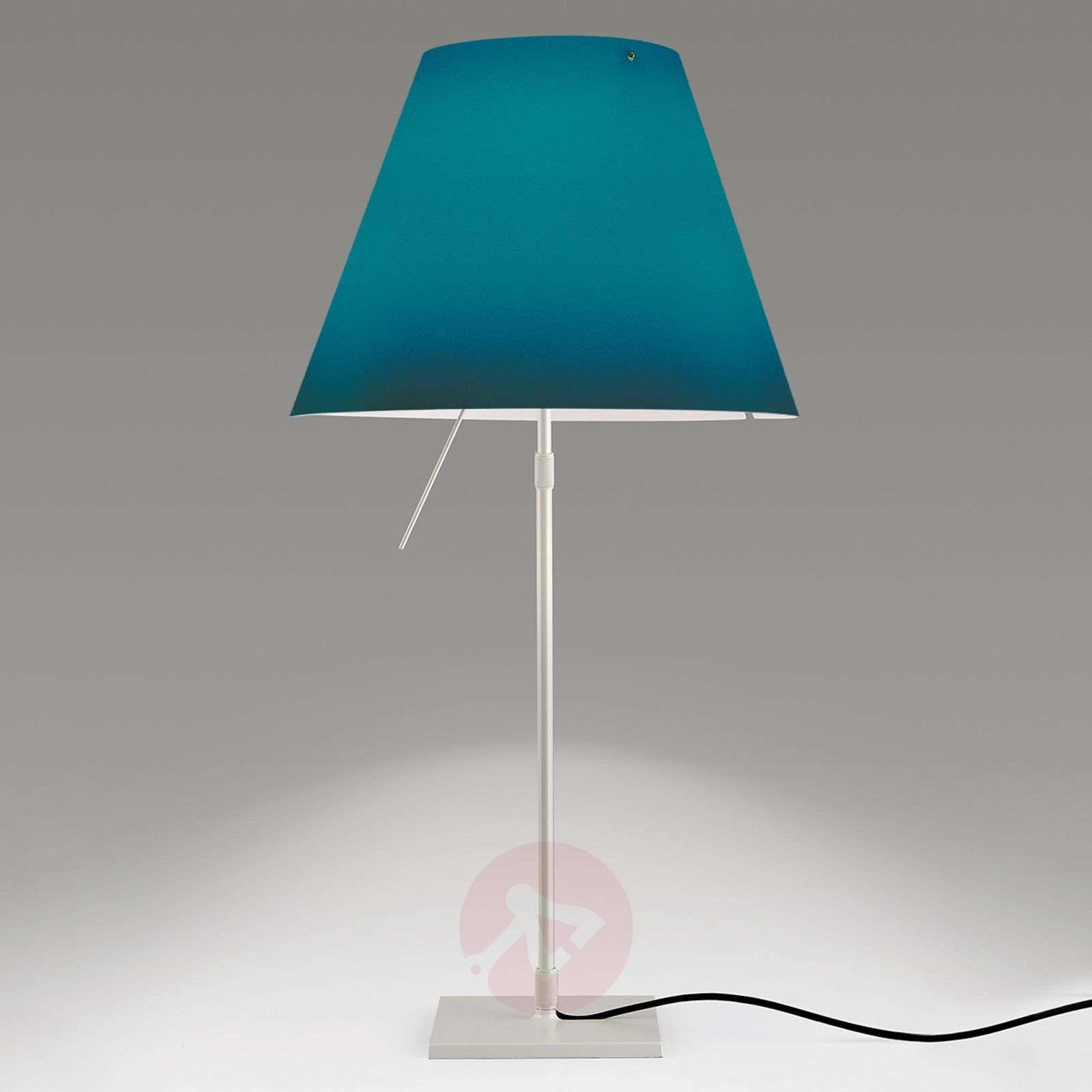Koristeellinen LED-pöytälamppu Costanza, sininen-6030164-01