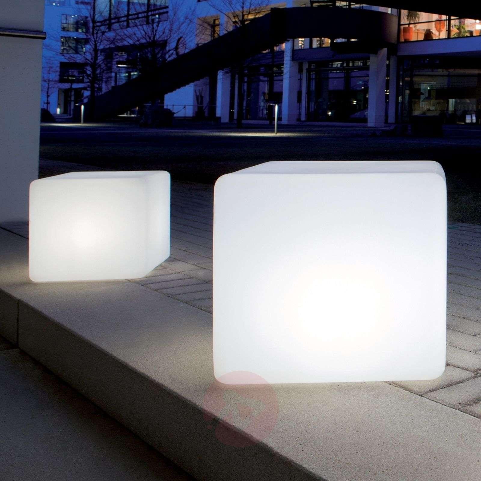 Korkealuokkainen kuutiovalaisin Cube-3050162X-01