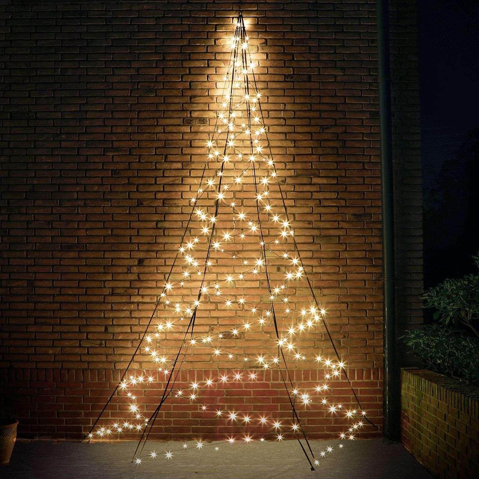 Korkeus 4m seinä-joulukuusi Fairybell®-4544003-01