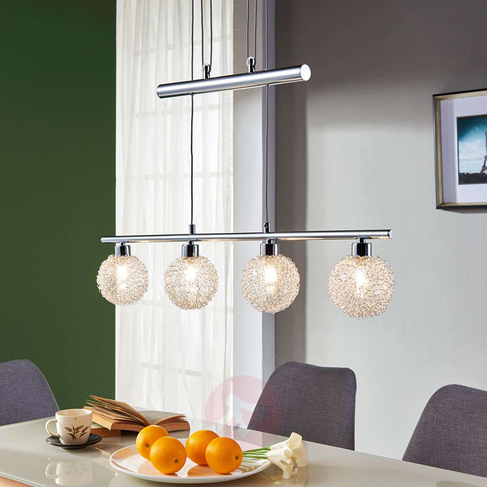 Korkeussäädettävä LED-riippuvalaisin Ticino-9620784-04