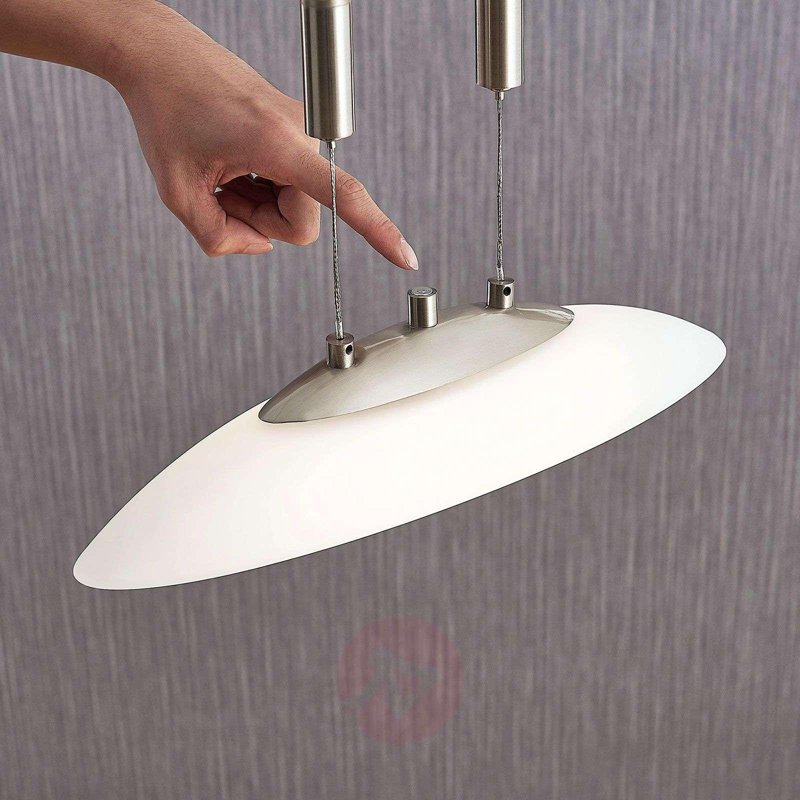 Korkeussäätö-LED-riippuvalaisin Judie, himmennin-9621305-02