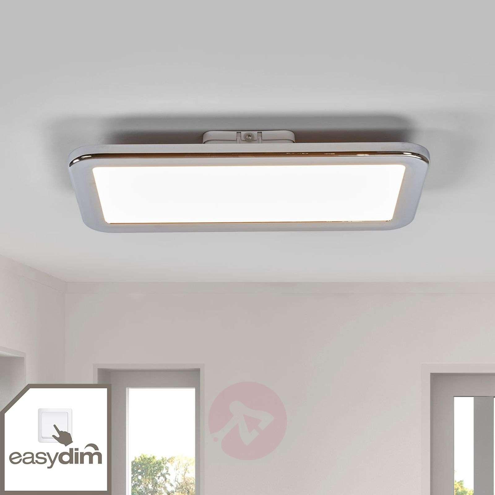 Kromattu LED-kattolamppu Filina, Easydim-1558103-01