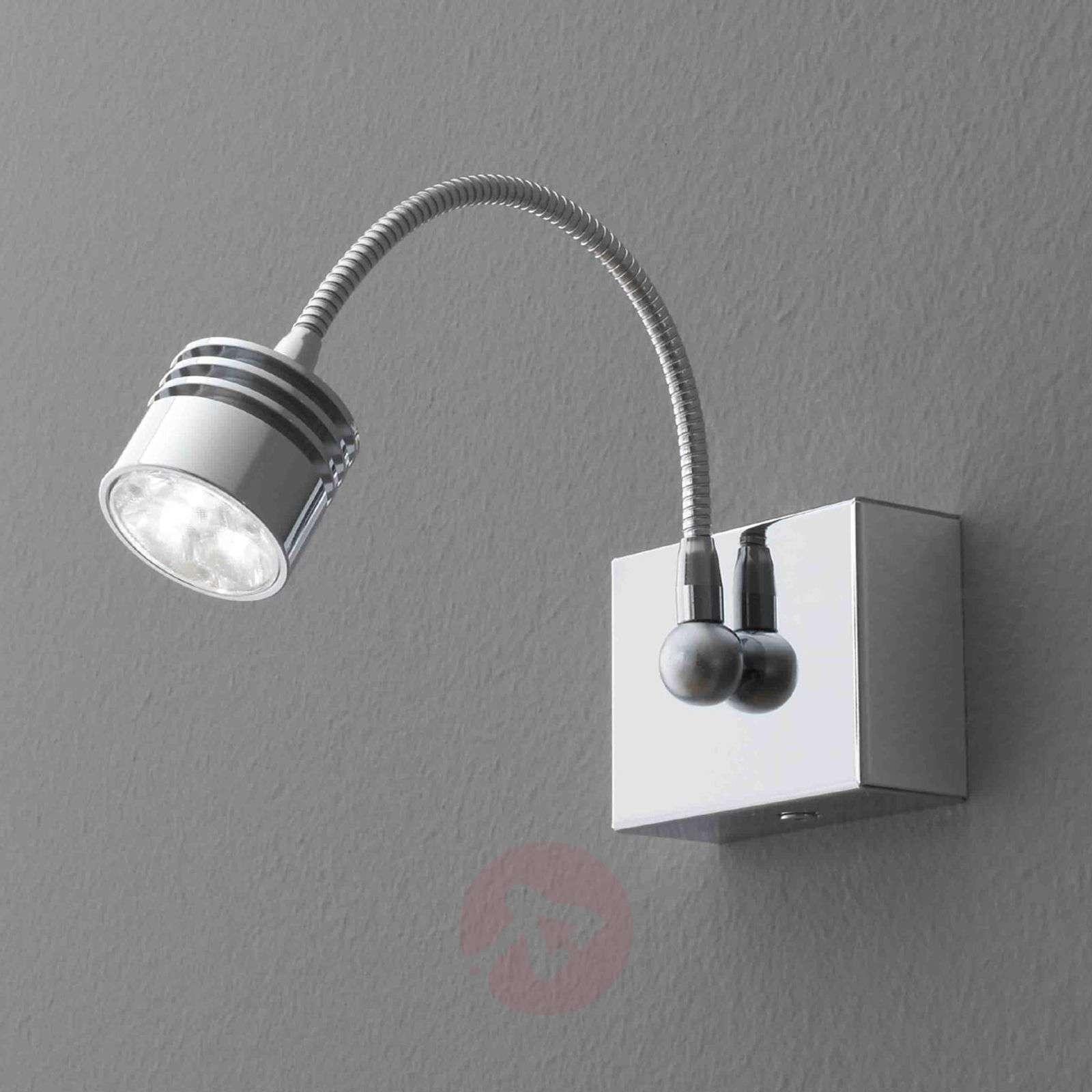 Kromattu Look Me-LED-seinävalaisin, 3,3 W-3040022-01