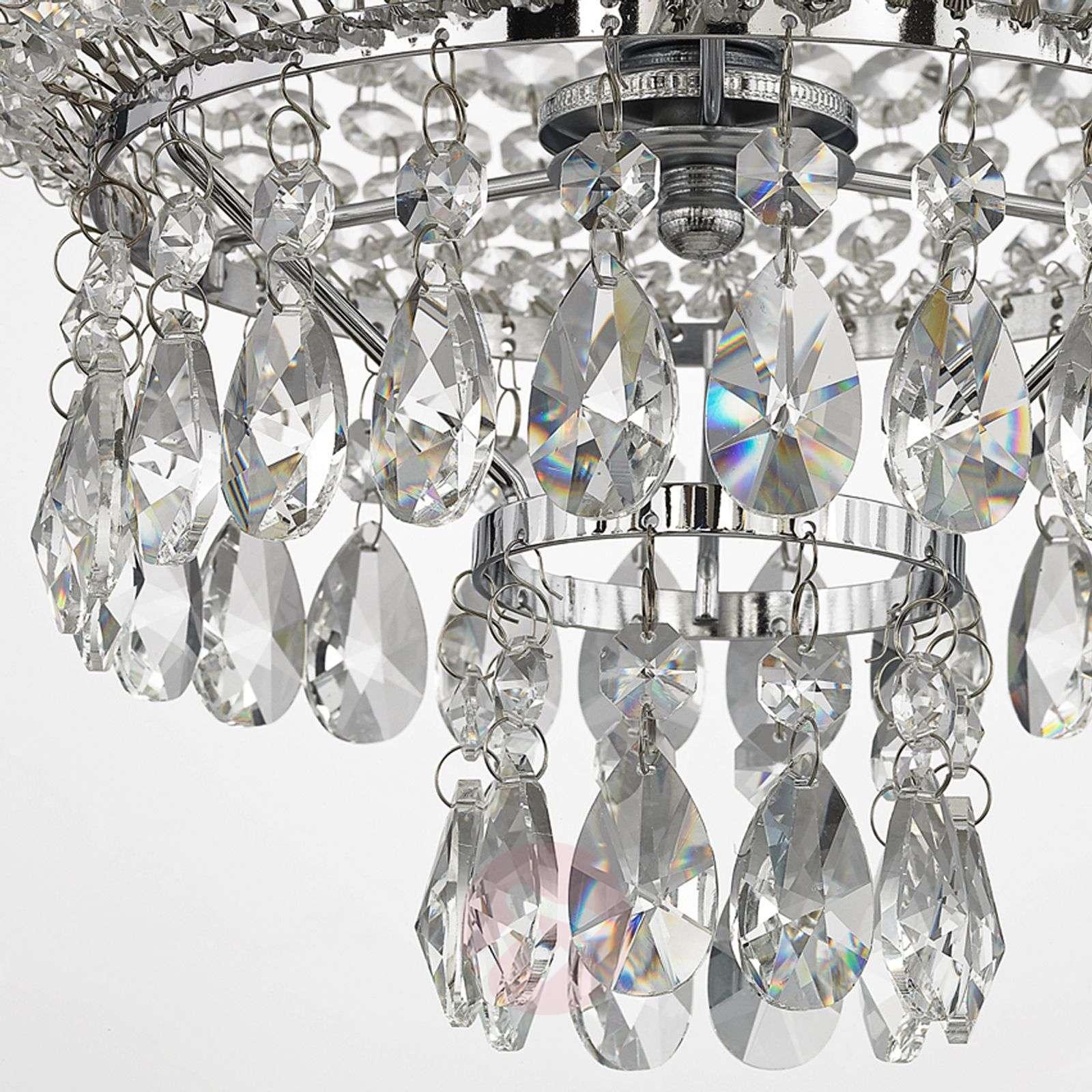 Krominkiiltävä kristalliriippuvalaisin Casparia-9620364-013