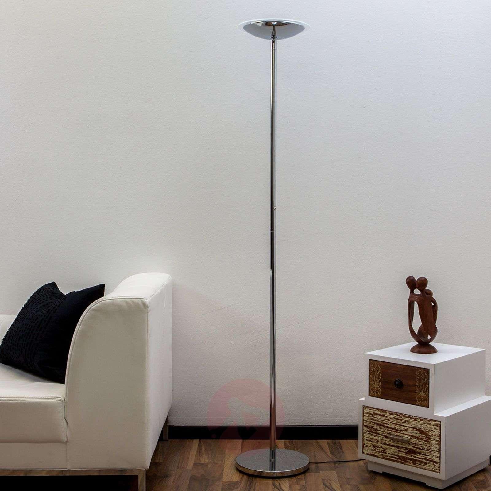 Krominkiiltävä LED-lattiavalaisin Malea-9620042-01