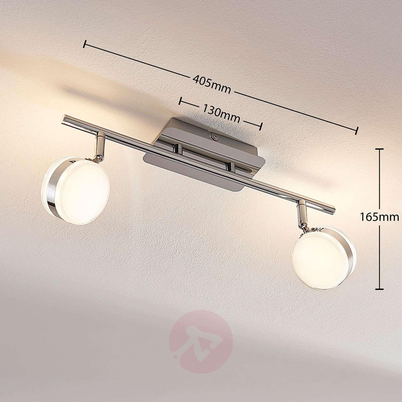 Ksenija – LED-kohdevalaisin, himmennettävä 3 tasoa-9621729-03