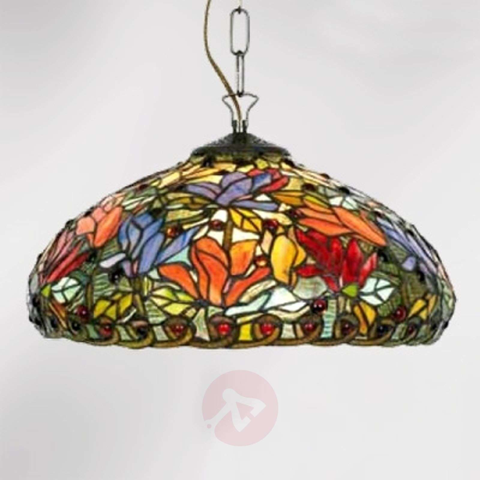 Kukikas Elaine-riippuvalaisin, 2-lamppuinen-1032252-01