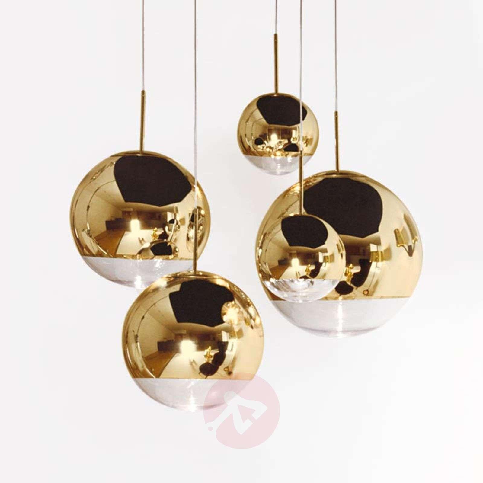 Kullankiiltoinen Mirror Ball-riippuvalaisin-9043041X-01