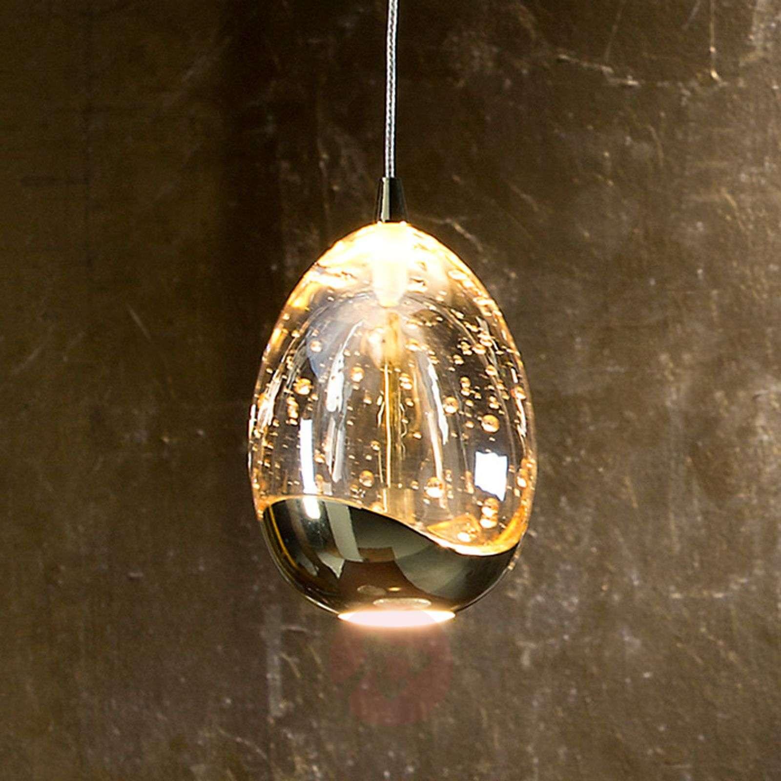 Kullanvärinen, 1-osainen Rocio-LED-riippuvalaisin