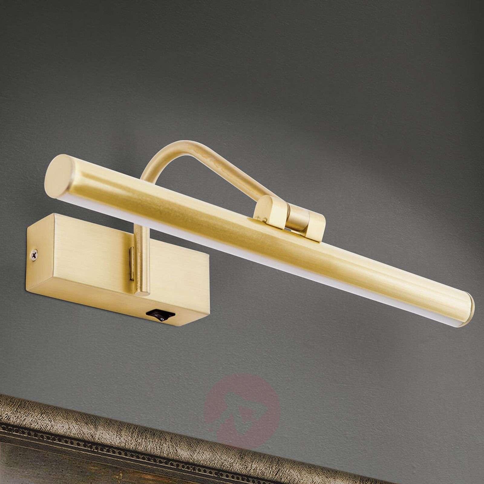 Kullanvärinen LED-tauluvalaisin Sofia-7255306X-01