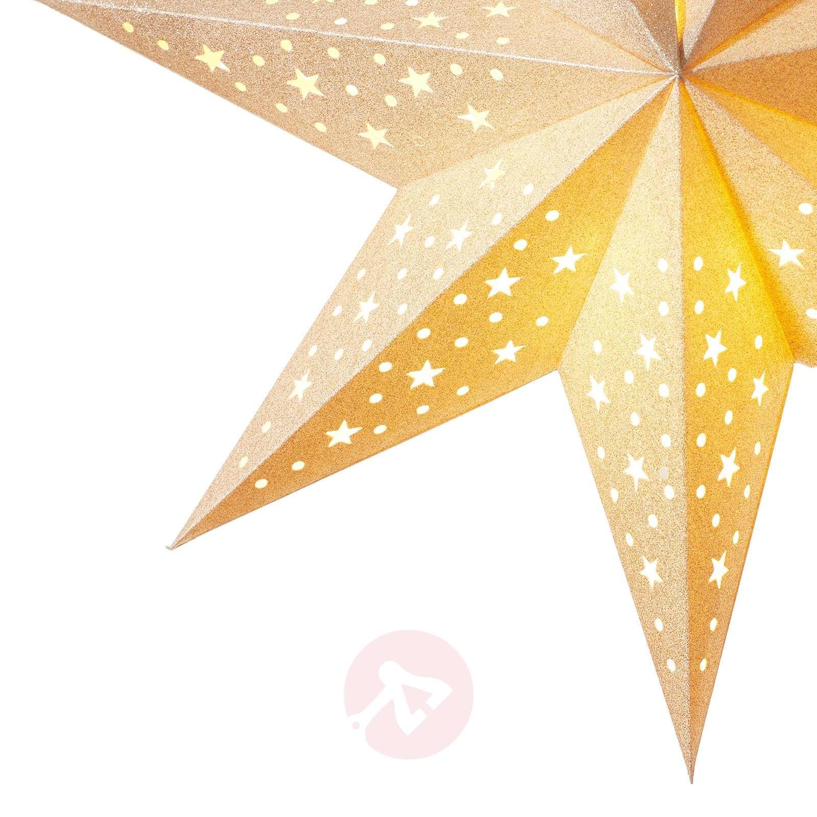 Kullanvärinen tähti Solvalla 45 cm-6507517-01