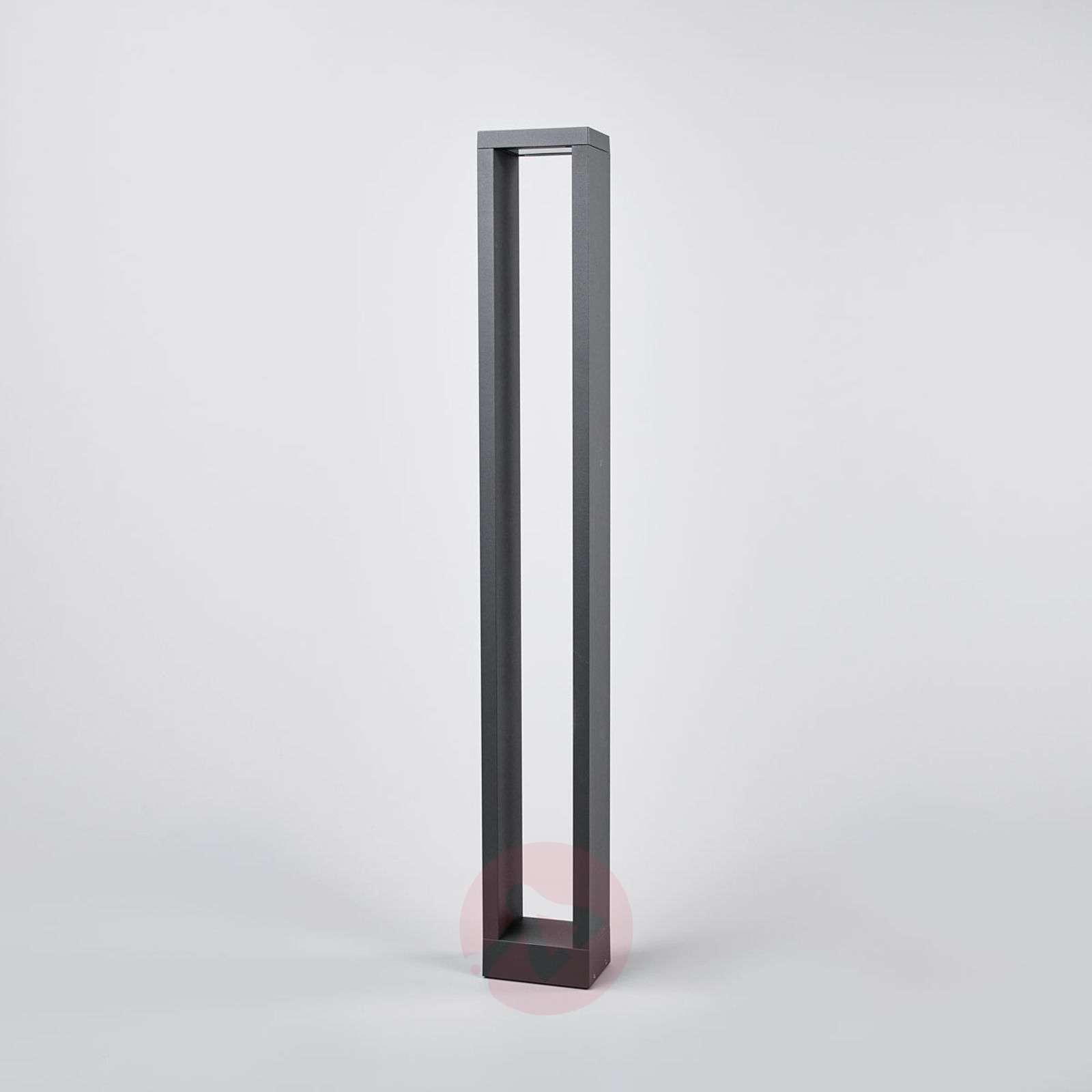 Kulmikas LED-pylväsvalaisin Jupp, 90 cm-9616121-02