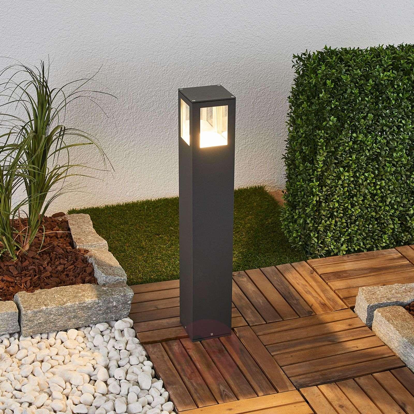 Kulmikas LED-pylväsvalaisin Nicola, IP54-9618009-08