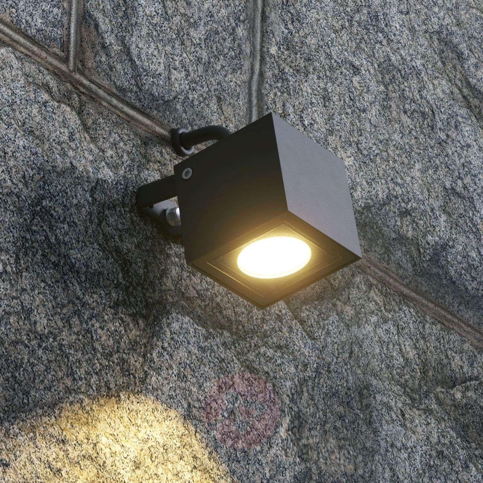 Kulmikas LED-ulkokohdevalo Mariana, grafiitti-9616133-01