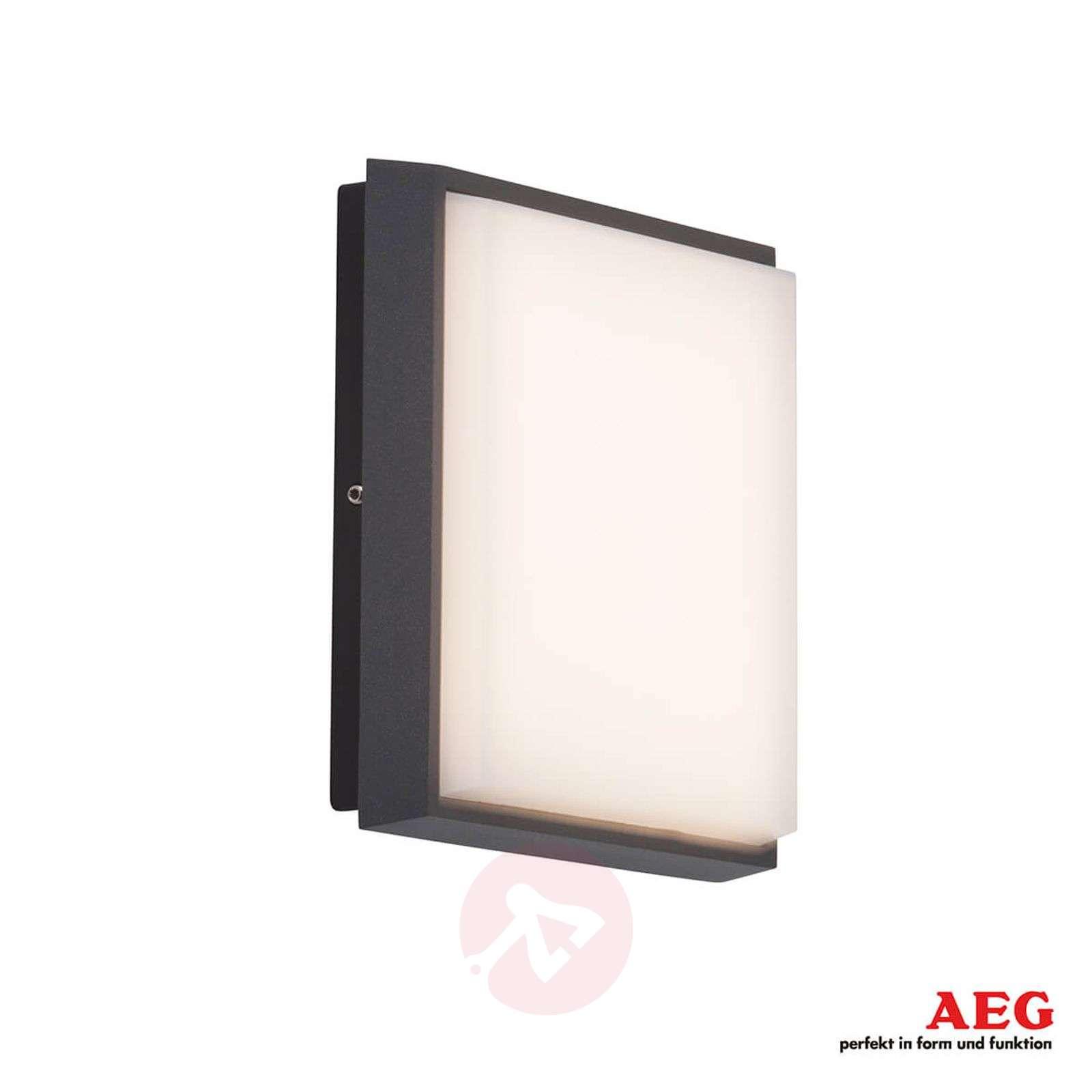Kulmikas LED-ulkoseinälamppu Letan Square 9 W-3057117-01