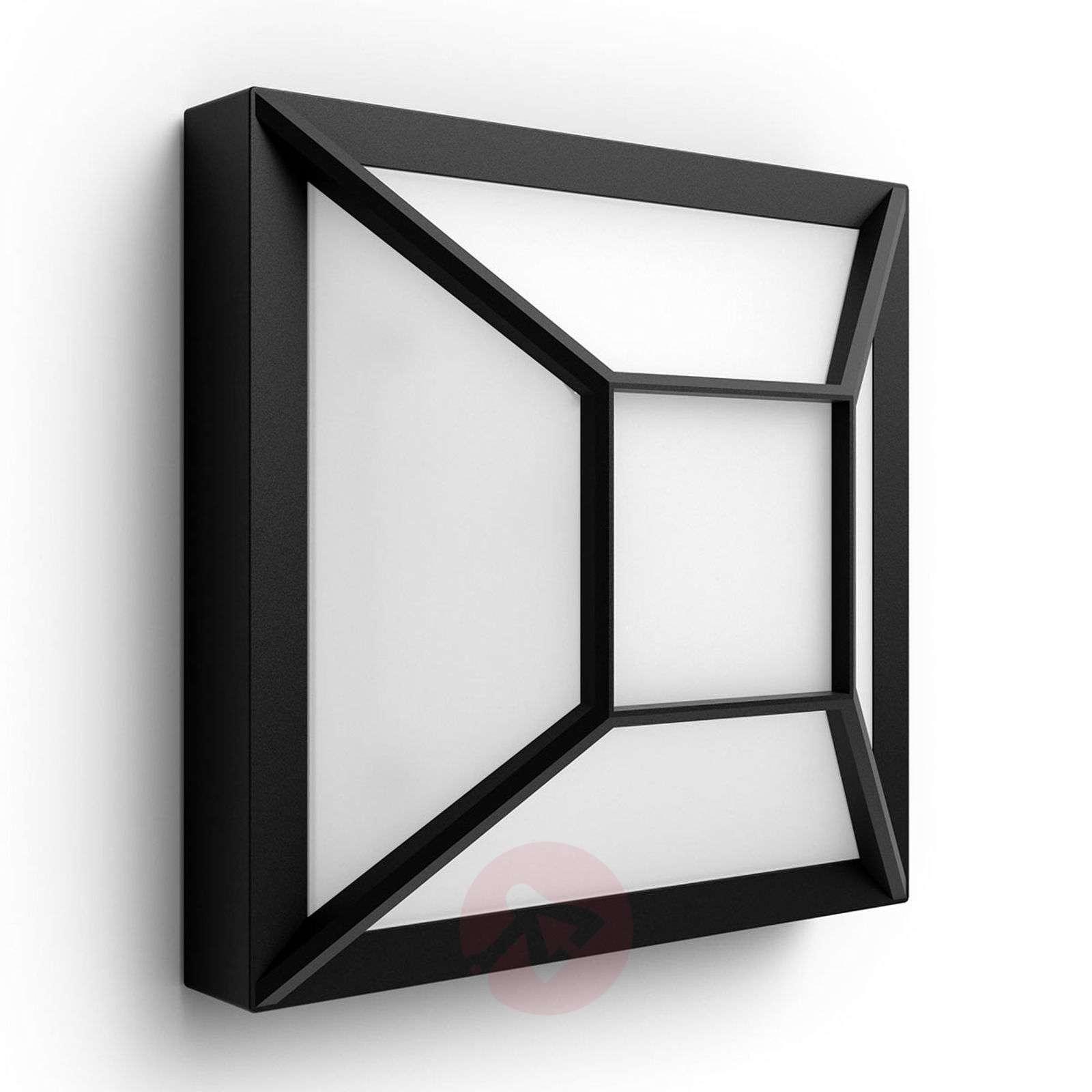 Kulmikas LED-ulkoseinävalaisin Drosera myGarden-7534044-01