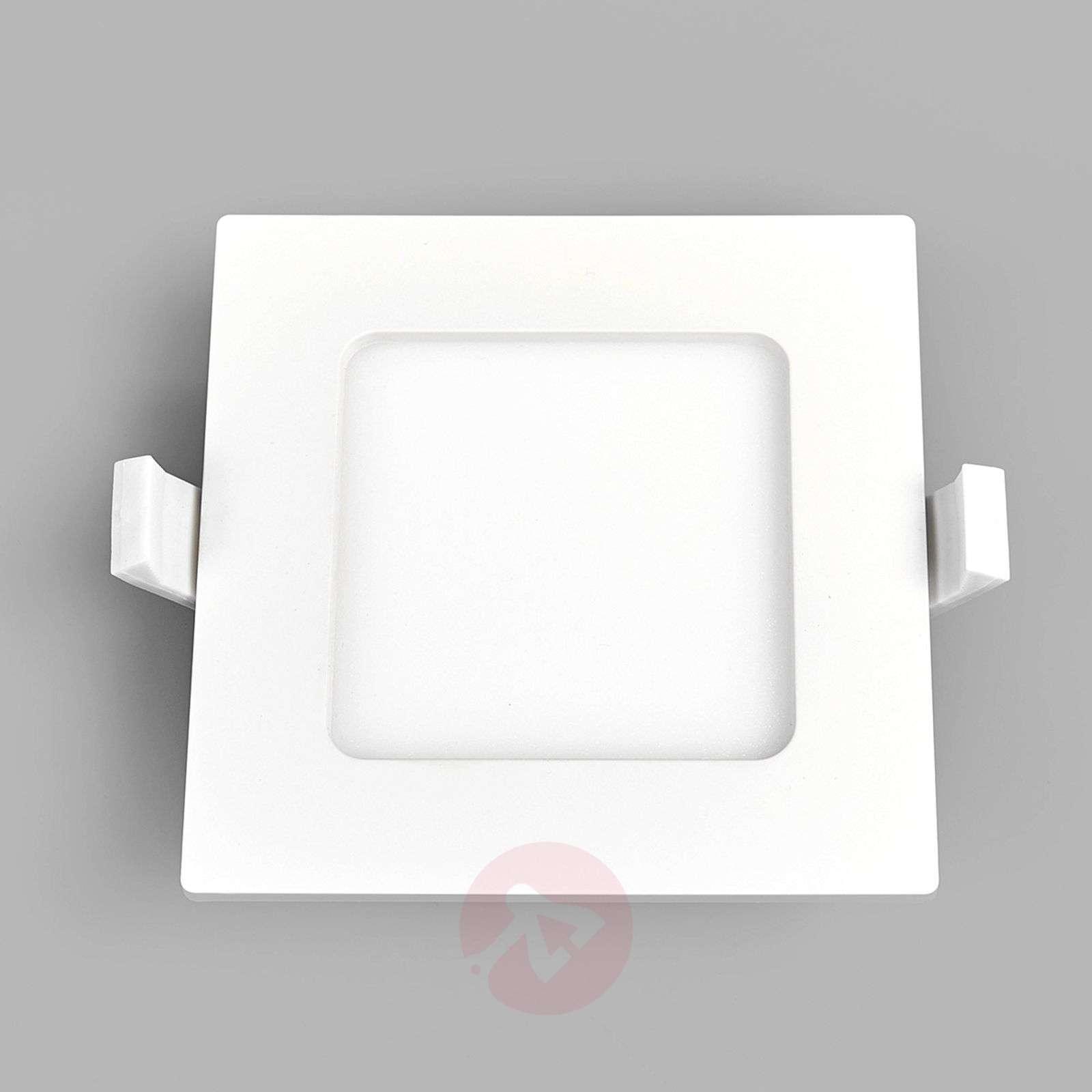 Kulmikas LED-valaisin Feva valkoinen, 5W-9978016-039