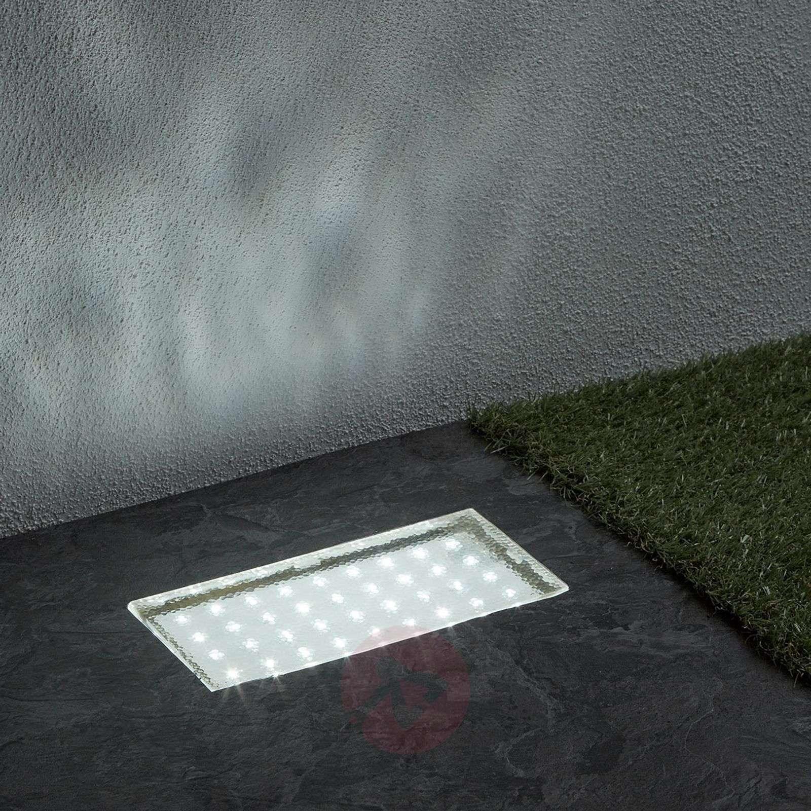 Kulmikas upotettava LED-maaspotti Walkover, 20cm-8570503-01