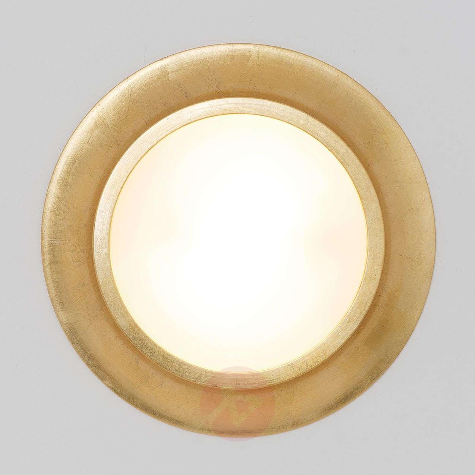 Kultainen keramiikka kattovalaisin Spettacolo-4512512-01
