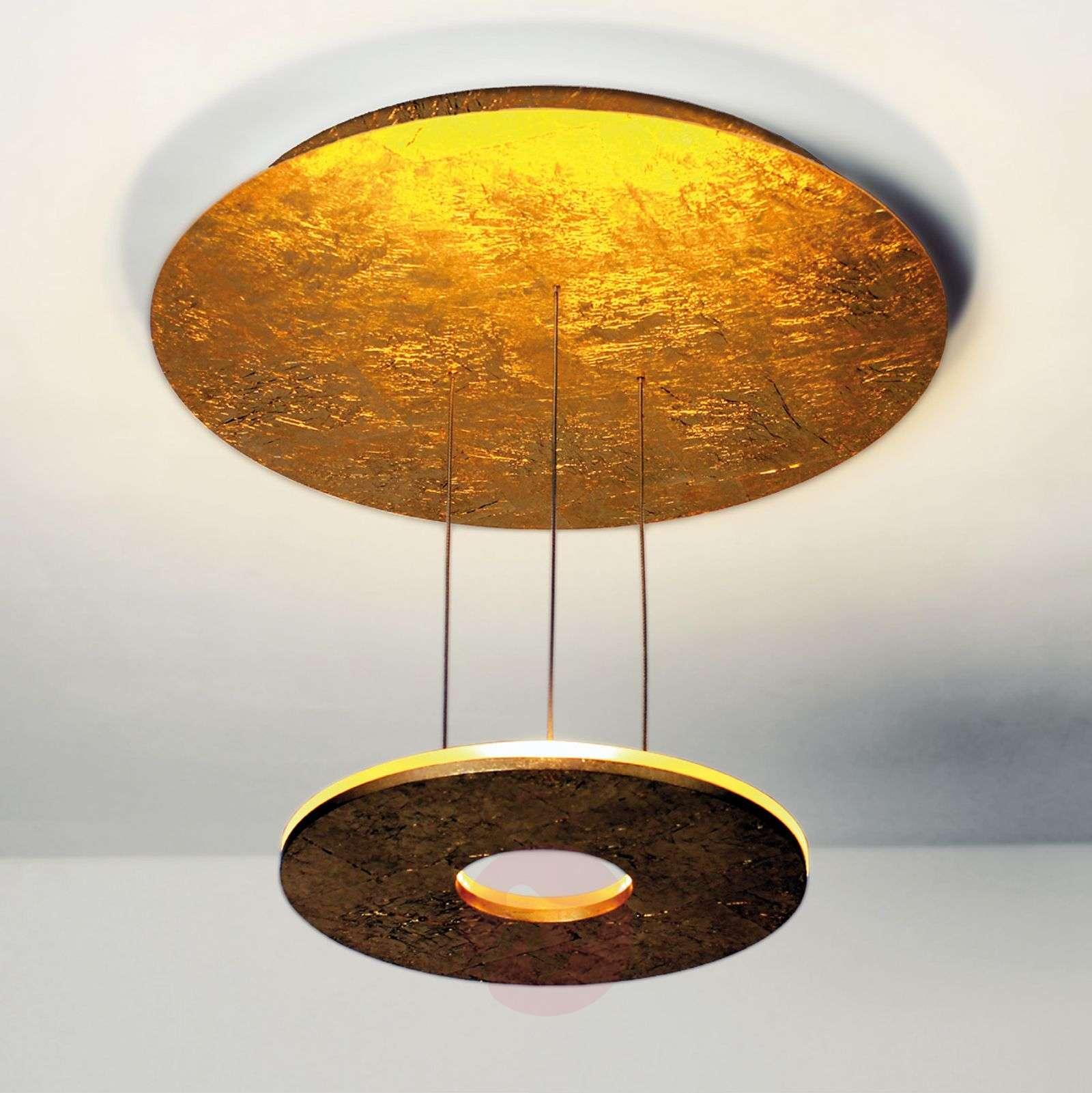 Kultainen LED-kattovalaisin Saturn-1556001-01