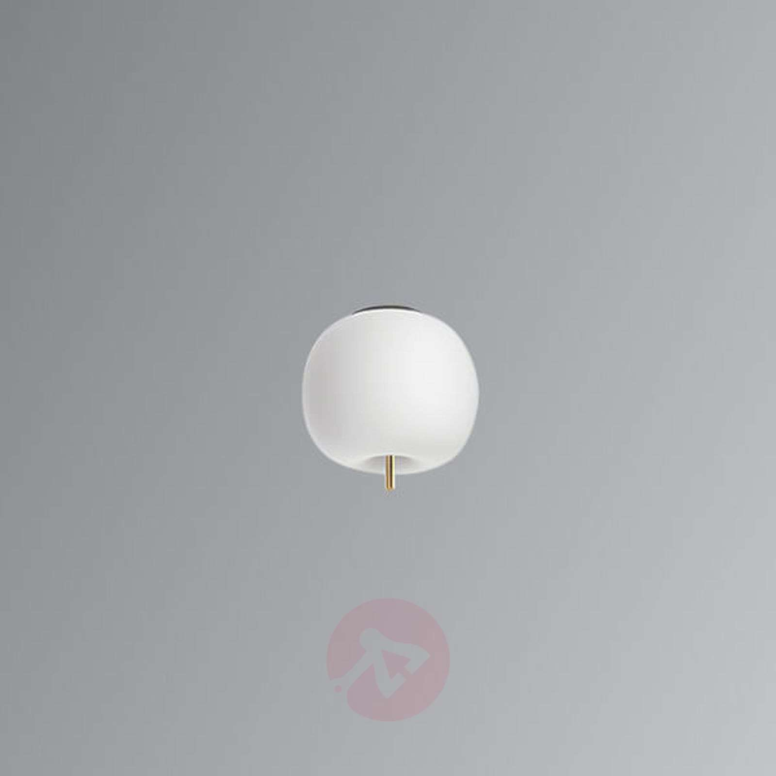 Kundalini Kushi LED-kattovalo messinki 16cm-5520190-06