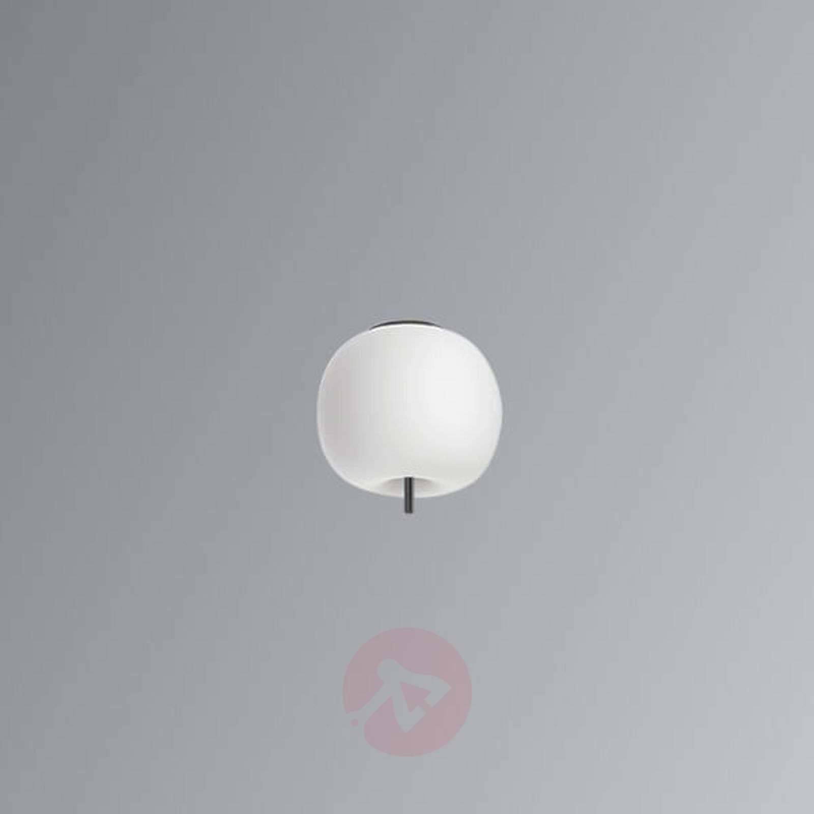 Kundalini Kushi LED-kattovalo musta 16cm-5520188-06