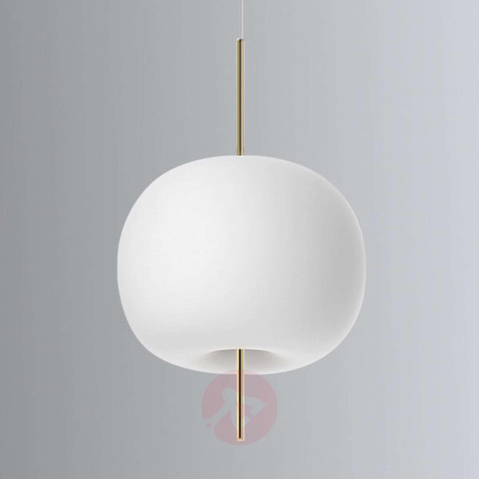 Kundalini Kushi – LED-riippuvalaisin messinki-5520183X-09