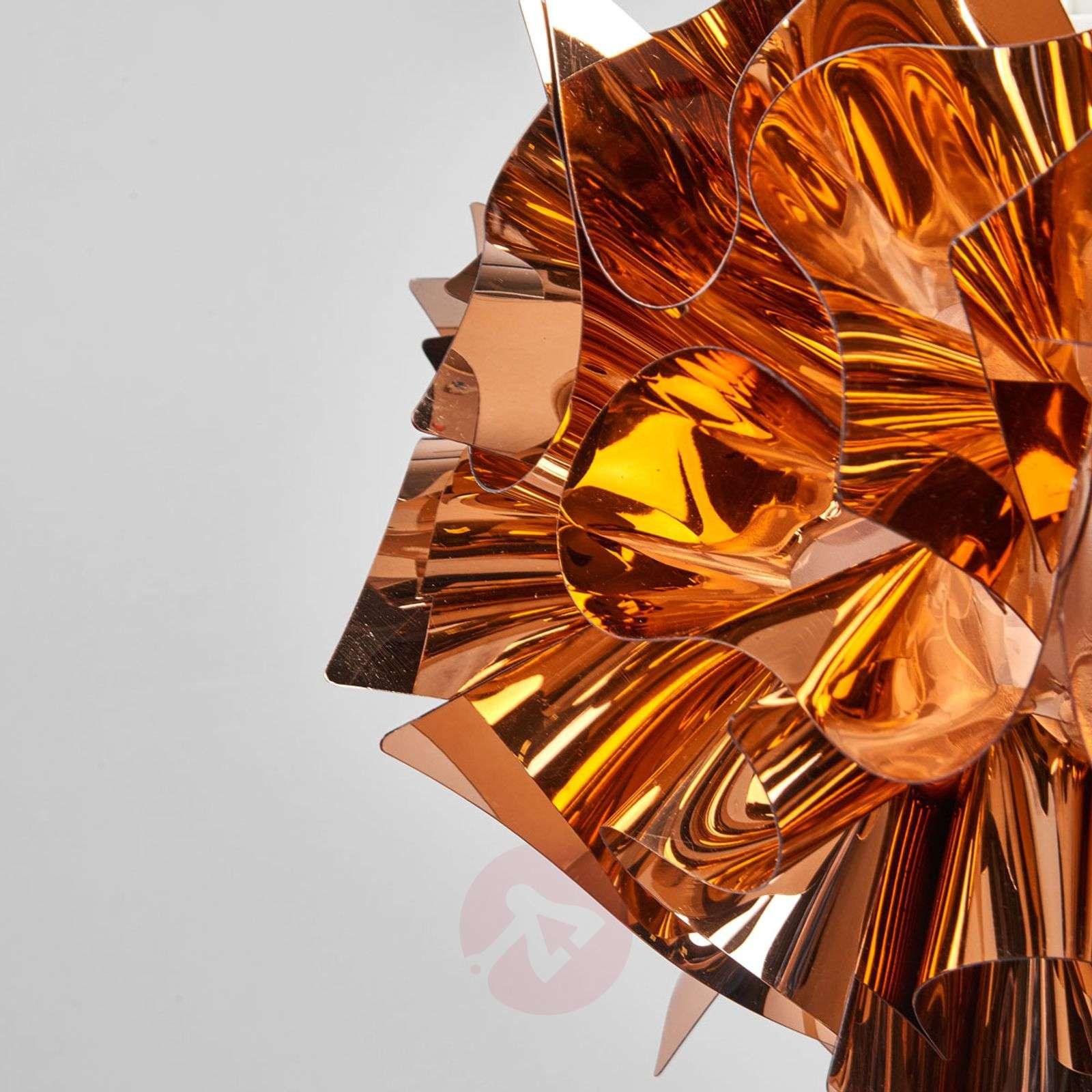 Kuparinvärinen riippuvalaisin Veli, 42 cm-8503228-01