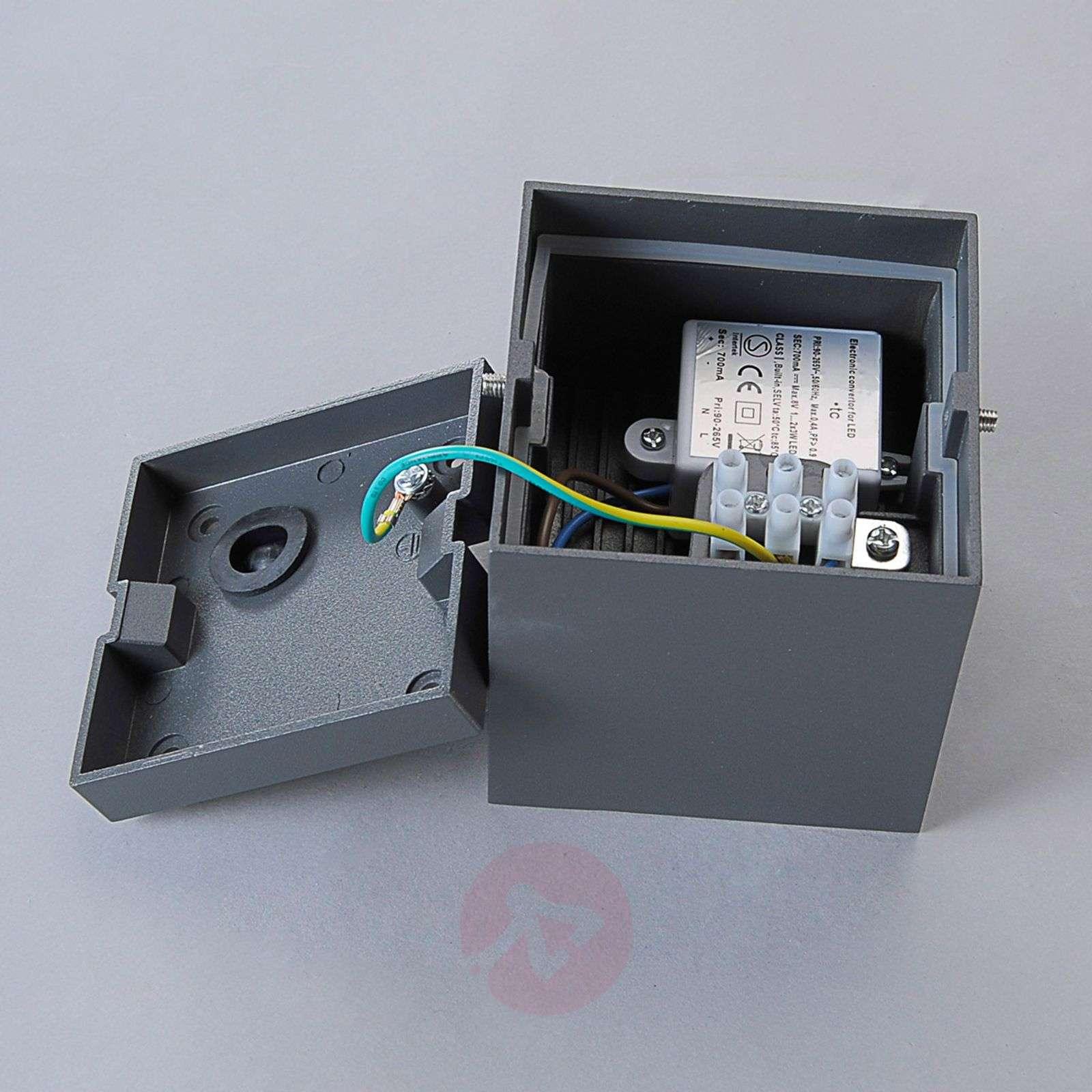 Kuutiomainen LED-ulkokattovalaisin Cordy-9616072-01