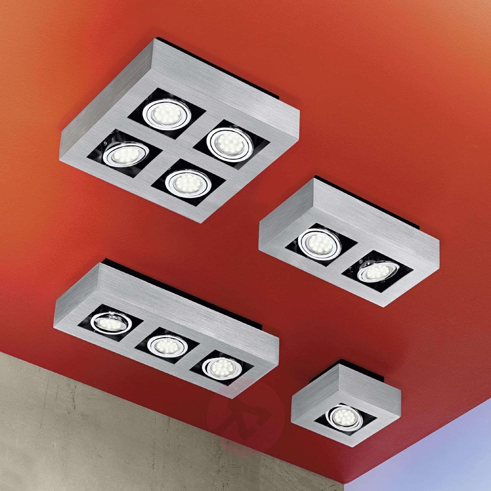 Kuution muotoinen 1-osainen Loke-LED-kattovalaisin-3031151-01